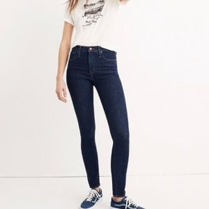 "Madewell 10"" High Rise Skinny Jean in Lucille Wash"
